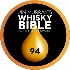 """Whisky Bible Liquid Gold Award"" Medaille 94 Punkte"