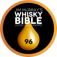 """Whisky Bible Liquid Gold Award"" Medaille 96 Punkte"