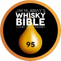 """Whisky Bible Liquid Gold Award"" Medaille 95 Punkte"